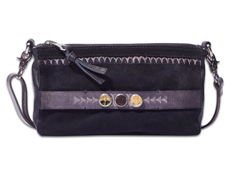 Noosa Amsterdam Embroidery Black City Bag ~ The Wild Haven ...