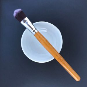 Vegan make up brush, application brush bamboo