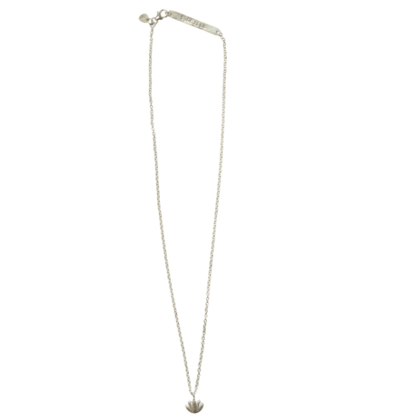 Lotus Flow Silver Necklace - A Beautiful Story