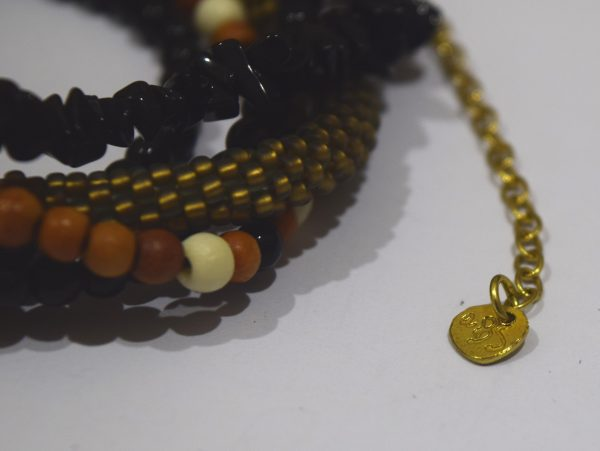 Black Onxy Bracelet a Beautiful Story