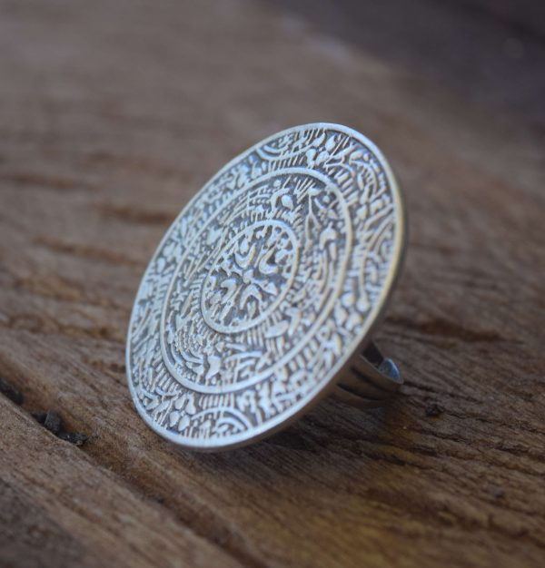 Patterns Turkish Jewellery Silver Ring