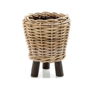 Rattan Planter with Legs Cancun